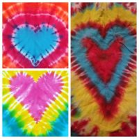 Community Art pARTy - Valentine Tie Dye